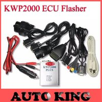 Wholesale Best Ecu Flasher - Wholesale- BIG DISCOUNT!!! KWP2000 Plus ECU REMAP Flasher OBD2 ECU chip tunning tool ---- Fast Shipping BEST KWP2000 + wholesales