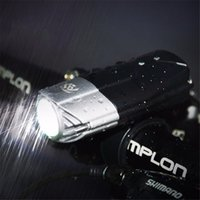 Wholesale 20pcs USB Rechargeable L2 T6 Bike Front Light Riding Flashlight Lithium Battery Cycling LED Head Light Lamp