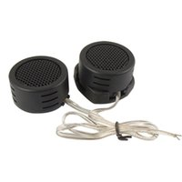 Großhandel- Universal Mini Dome Tweeter Lautsprecher High Efficiency 2x 500W Lautsprecher Lautsprecher Super Power Audio Sound Klaxon Tone für Auto 1pair