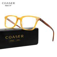 088cdaad78 Wholesale- COASER Glasses Frame Vintage NDG-1-P Women Men Suit Reading  Computer Prescription Optical Eyeglasses clear lens Retro Eyewear