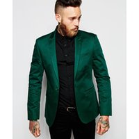 Wholesale Men S Grooming Set - 2017 New Arrival Custom made Men Suit Set Slim Wedding Suits Mens Green Groom Tuxedos Homecoming Suit One button (Jacket+Pants)