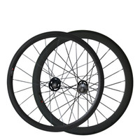 Livraison gratuite 700C 38 + 50 Clincher / Tubular Mix Bicycle Track Bike Wheelset Cheap 3K Matte Fix Gear Wheels Livraison gratuite