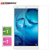 Wholesale For Huawei Mediapad m3 Inch Tablet PC Tempered Glass Screen Protector Film D Edge H Transparent Ultra thin Tablet Glass