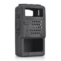 Wholesale baofeng uv 5ra accessories online - Silicone Soft protective case Case for Baofeng UV R UV RA UV R Plus UV RE UV RC F8