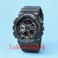 Wholesale Fun Digital - 2017 Military New Men's Brand Luxury G Style Shock Fun Swimming Sports Analog&Digital Fashion LED Reloj Hombre SHOCK Homme WatcH