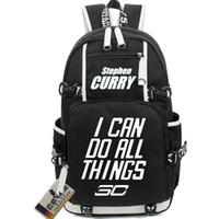 Wholesale Stephen Curry backpack Basketball school bag Club player daypack Super star schoolbag Outdoor rucksack Sport day pack