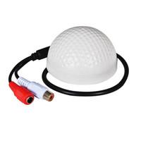 Wholesale camera sound microphone for sale - High Sensitive Audio Pickup Device Microphone for Security Camera CCTV Surveillance System Sound Vioce Monitor design