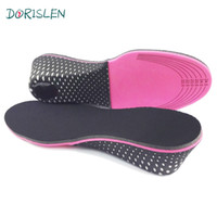 Wholesale Shoes Pad 5cm - EVA Height Increase Insole Shoes Pads 5cm Taller Up 50pair Lot Via DHL