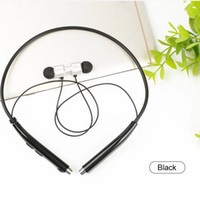 Wholesale Bluetooth Headset Display - Original sport bluetooth headphone necklace wireless magnetic 240 hours fashion bluetooth headphone led multipoint live action display