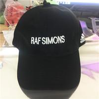 ücretsiz swag şapkaları toptan satış-Yeni 2017 Neredeyse Ünlü şapka Raf Simons Snapback beyzbol şapkası Trapsoul Tek Için NIght kapaklar VETEMENTS şapka Ücretsiz Kargo kemik gorras swag