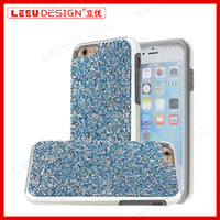 Wholesale Diamond Bumper Iphone Case - 2017 new case For iPhone 7 Luxury Diamond Case Crystal Luxury Glitter Bling Soft TPU Back Cover Hard PC Bumper for iphone6,6 plus,7 plus