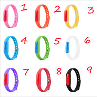 Wholesale Silicone Bracelet Mosquito - Free shipping - Anti Mosquito Pest Insect Bugs Repellent Repeller Wrist Band Bracelet Wristband + Free Gift