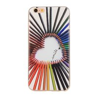 Wholesale Black Imagination - 50PCS lot All kinds of Creativity and imagination Soft TPU Phone Case For Iphone5 6 6plus cover back