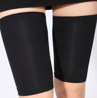 Wholesale Thigh Slimming Wraps - 1 Pair Slimming Wraps Burn Fat Body Weight Loss Shaper Leg Thigh Women Binding Belt For Legs