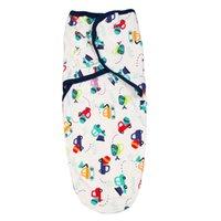Wholesale Baby Diaper Blanket - 12 types Cute Baby Swaddle Infant Wrap Envelope Blanket Newborn Sleep Bag Sleepsack With Diaper Inside
