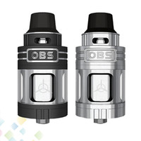 Wholesale Rebuild Engine - Authentic OBS Engine RTA Tank 5.2ml Top Filling and Airflow Isolated Rebuild Deck Full Glass Window Atomizer DHL Free