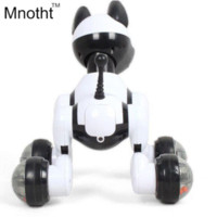 Wholesale Electronic Toys For Dogs - New 2016 Smart Dog with 15 Function Can Walk Light UP with Music Toys Voice - Controlled Story Machine Gifts for Kids Birthday