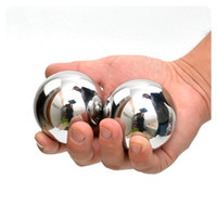 Wholesale Hand Massage Balls - AISI 304 Stainless Steel Solid Balls Baoding Balls For Hand Massage And Wrist Strengthening Exercise 40mm 45mm 50mm 60mm