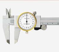 Wholesale Precision Clocks - Vernier Calipers With Clock Measure Range 0-150mm200 High Precision Shockproof Stainless Steel Vernier Caliper Measuring bearing Thickness