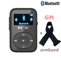 Wholesale voice playback - Wholesale- clip Bluetooth mp3 player RUIZU X26 8GB with Screen 30 Hours Playback Support SD Card FM Radio Voice Recorder mp3 music player