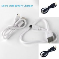 Wholesale g battery charger - electronic cigarette Charger mini micro USB Scalable passthrough for g Battery e cigs chargers and Android Phone Chargers short types