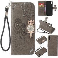 Wholesale Diamond Iphone 5s Cases - Diamond Leather Case with Card Slot Wallet For iPhone X 8 7 6 Plus 5s Braided Rope Case Cover For Samsung S8 Plus Note 8
