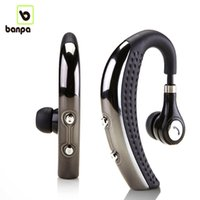 Wholesale Earpiece Wireless - Banpa BH693 Wireless Bluetooth 4.0 Headset Ear Hook Headphone Stereo Earphones Earbuds earpieces with Mic For LG iphone 6 7 Samsung S6 s7