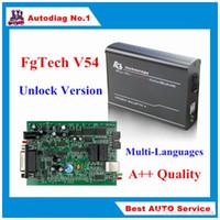 ingrosso vw ecu tuning-Novità FGTech V54 Galletto 4 Master Support BDM Full Function Fg Tech V54 Auto Centralina ECU Tuning BDM-TriCore-OBD FG-TECH