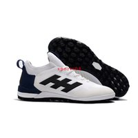 Wholesale Discount Indoor Soccer Shoes - 2017 New Cheap Discount ACE Tango 17+ Purecontrol TF Soccer Boots Sale Mens Soccer Shoes Low Ankle Indoor Football Sneakers Size 40-46