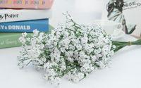 ingrosso fiori di seta del fiore del bambino-Moda Hot Gypsophila Baby's Breath Artificiale fiori di seta finti Fiori Decorazione della casa