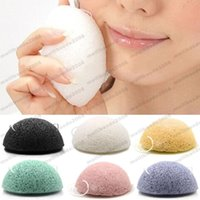 Wholesale Washing Face Sponges - 2017 New Arrivals Natural Konjac Konnyaku Facial Puff Face Wash Cleansing Sponge Tools Cosmetic Puff Hot Sale MYY