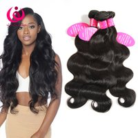Malaisie Body Wave Hair Weave Bundles 5Pcs / lot Wow Queen Produits 8-28inch Soft et épais Cheap Whoelsal Price Malais Virgin Human Hair