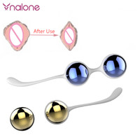 Wholesale Kegel Ben Wa Ball - Nalone Metal Vaginal Love Kegel Balls For Women Ben Wa Balls Shrink Vaginal Kegel Muscle Exerciser For Female Sex Toys Products