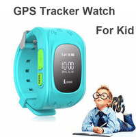 Wholesale Baby Trackers - kids smart watch for children kids gps watch Q50 smart watch for baby LBS + GPS + AGPS triple location