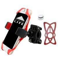 "Wholesale Wide Handlebars - Bike Mount   Phone Holder 360-degree rotation   Handlebar Phone Mount Fits Smartphones Android Up to 4"" Wide"