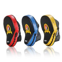 Wholesale punch boxing gloves resale online - Hand Target MMA Focus Punch Pad Boxing Training Gloves Mitts Karate Muay Thai Kick