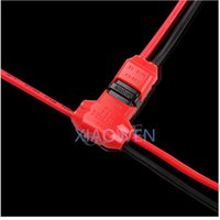 Wholesale Pc Cable Clamps - 10 PCS 2 Pin DC AC 300v 10a18-24awg 2 Way Easy Fit no welding no screws Quick Connector cable clamp Terminal Block for led strip