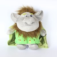"Wholesale Months Stones - 12"" 30CM Goblin Trolls Plush Toys Stone Kristoff Friend Rock People Grand Goblin Trolls Plush ToysSoft Stuffed Dolls LC446"