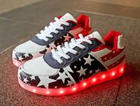 ingrosso scarpa per bambini-Pattini dei bambini delle prese di fabbrica con la rotella, i neonati e le ragazze i pattini casuali chiari del LED, i capretti illuminano la sneaker del pattino