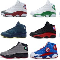 Wholesale Comfort Day - 2017 New arrival Men's Air Retro 13 Future Basketball shoes, top quality,Fashion Comfort Sports Athletic running shoes sneakers size 8-13