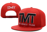 Wholesale Money Hats - Free Shipping Spring Summer Unisex Letter Baseball Caps The Money Team Hat Adjustable Character Casual hip hop for street dancing