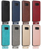 Wholesale Imitation Mobile Phones - 2017 time-limited for samsung pu business leather imitation samsung s8 plus full package soft shell new star mobile phone cases cover