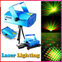Wholesale Best Selling Mini Laser Stage Lighting mW mini Green Red Laser DJ Party Stage Lighting Light with Retail Box
