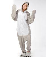 Wholesale Adult Onesie Lion - New Sea Lion Adult Animal Winter pajama Flannel Onesie