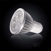 Wholesale E27 Spotlight Lm - High Power CREE Led Lamp 5x3W 15W GU10 E27 MR16 85-265V Led Lights Spotlight LED Bulbs Downlight 580-600 Lm 100pcs lot