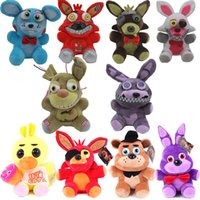 Wholesale Five Nights at Freddy s Toy Cartoon Plush toys Keychain Stuffed Animals Plush Toys