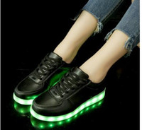 Usb-ladegerät kinder led shoes infant kid leuchten shoes casual boygirl lumineszierende turnschuhe beleuchtet glowing turnschuhe