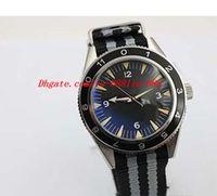 james glass venda por atacado-Relógios de luxo Auto Sea 300 Specter Edição Limitada dos homens Relógio de Pulso Cor tecido cinto de volta cronógrafo James Bond Specter relógio masculino