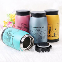 Wholesale Disposable Water Bottles - Wholesale- 1 PC 250ml Stainless Steel Vacuum Cup Thermos Travel Insulated Mug Water Bottle