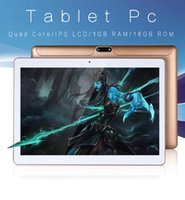10,1 Zoll Android 5.1 Tablet Dual-SIM-Karte Handy Tablet PC 2G / 3G / Wifi 1GB + 16GB Quad-Core IPS 800 * 1280 Touch